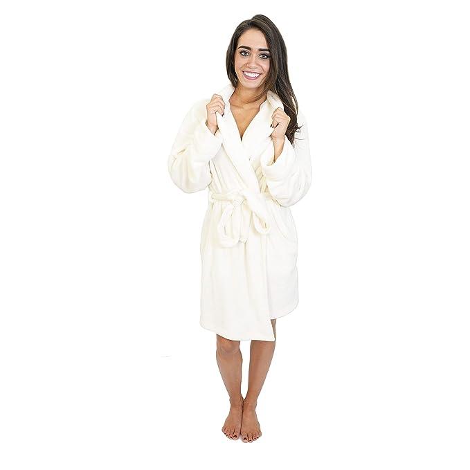 Amazon.com: Cherokee - Albornoz de felpa para mujer, XL ...