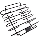 Zenware Non-Stick BBQ Rib Rack for Charcoal Grills and Smokers