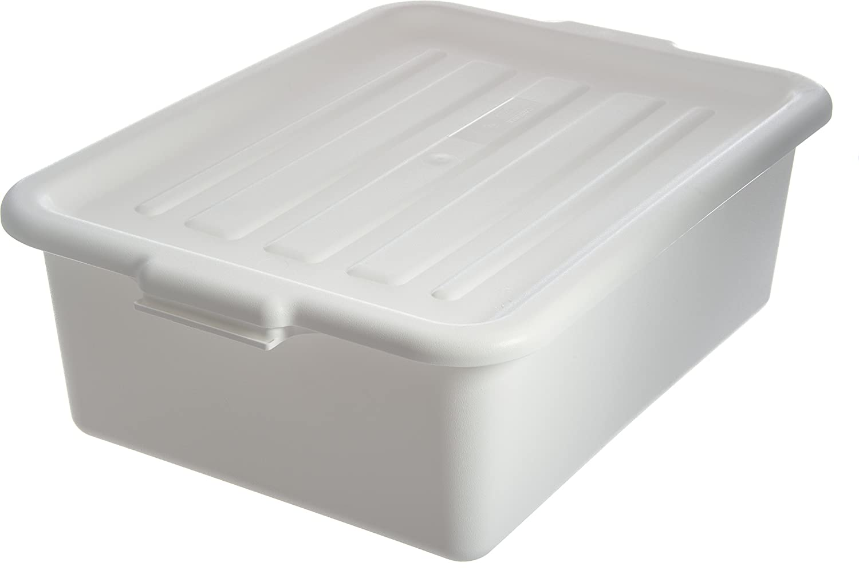18cm Deep Box, 1 Pack, White) - Carlisle N4401102 Comfort