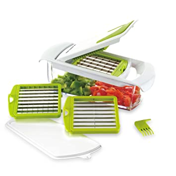 Amazoncom Sharper Image 4 In 1 Chop And Slice Kitchen Dining