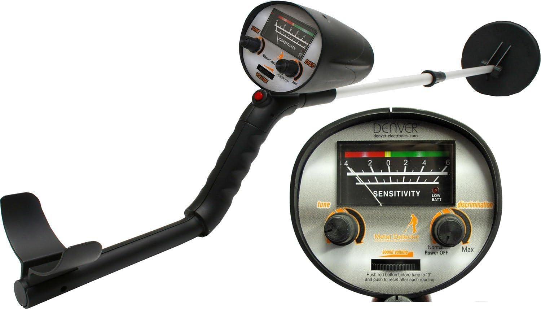 Denver MET-100 Detector de Metales, 9 V, Negro: Amazon.es: Bricolaje y herramientas