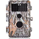 BlazeVideo 16MP 1080P Wildlife Camera for Hunting Trail Scouting, Animals and Plants Surveillance Cam, F=2.0, 38 IR LEDs…
