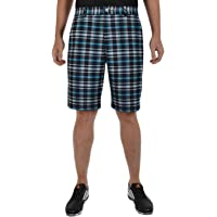 adidas Golf Climalite Stretch Checked Flat Front Pantalones