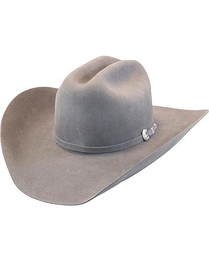 cb612ec003e Justin Men s Grey 15X Ryder Felt Cowboy Hat - Jf 1557Ryder-Granite at Amazon  Men s Clothing store