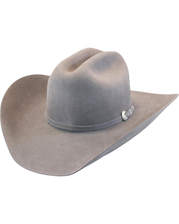 Justin Men's Grey 15X Ryder Cowboy Hat Grey 7 1/4