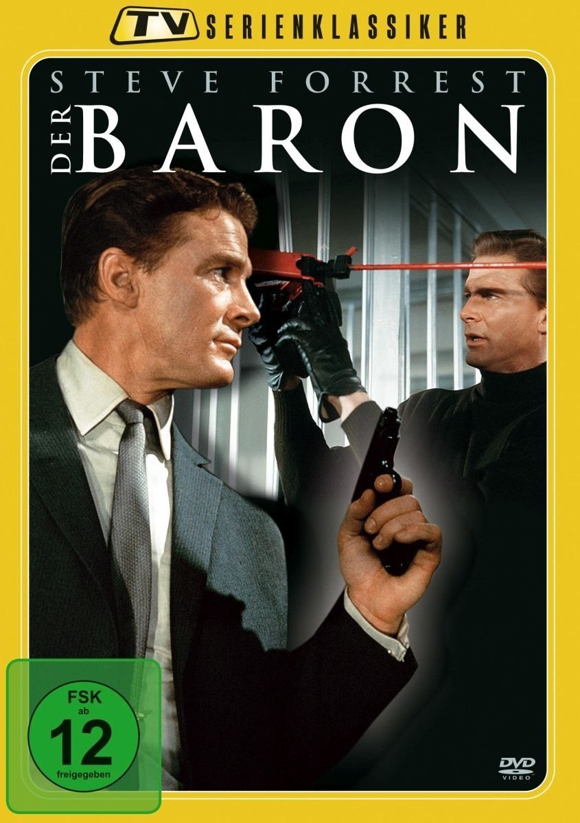 The Baron The Complete Series Dvd 1966 Amazoncouk