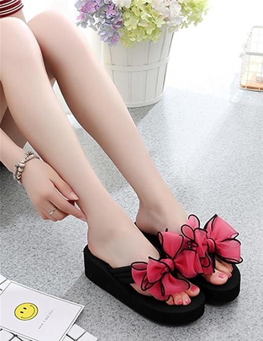 Damen Sommer Sandalen Anti-Rutsch-Clip Füße cool Pantoffeln Piste Ferse Strand Schuhe , 3 , US5.5 / EU35 / UK3.5 / CN35