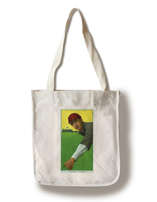 Louisville Minor League – Puttman – 野球カード Canvas Tote Bag LANT-23401-TT B0187ZZCIY  Canvas Tote Bag