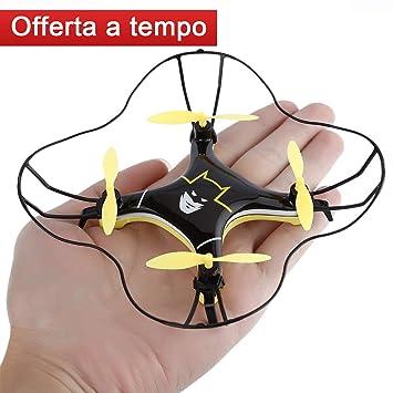 FPVRC K8 Mini RC Dron cuadricóptero 2.4 G 4 CH 4 Aixs, modo sin ...