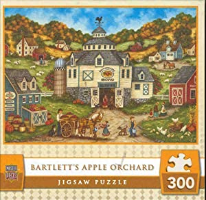 MasterPieces Bartlett's Apple Orchard - Apple Picking 300 Piece Puzzle