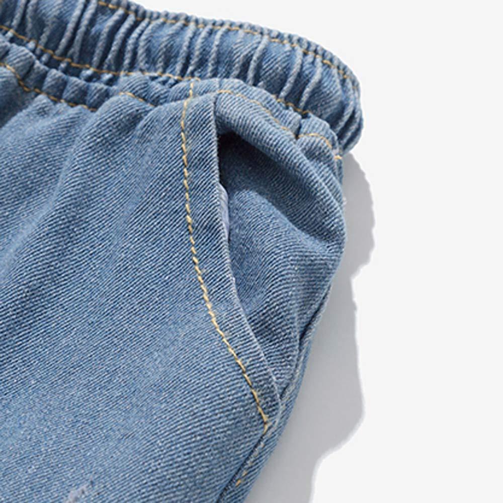 VPASS Pantalones Vaqueros para Hombre,Pantalones Hombre Tallas Grandes Pantalones Casuales Moda Jeans Sueltos Ocasionales Elásticos Fitness Pants ...