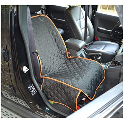 MDSTOP Pet Car Front Seat Cover For Dogs Waterproof Bucket Cars