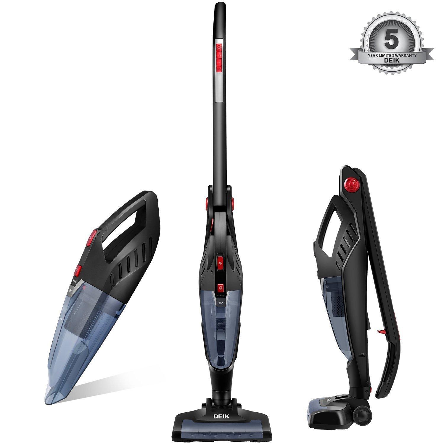 Deik Vacuum Cleaner, 2 in 1 Cordless Vacuum Cleaner Reviews