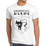 style 3 Schroedinger's Chat T-Shirt Homme The Big Bang Theory Sheldon TBBT,