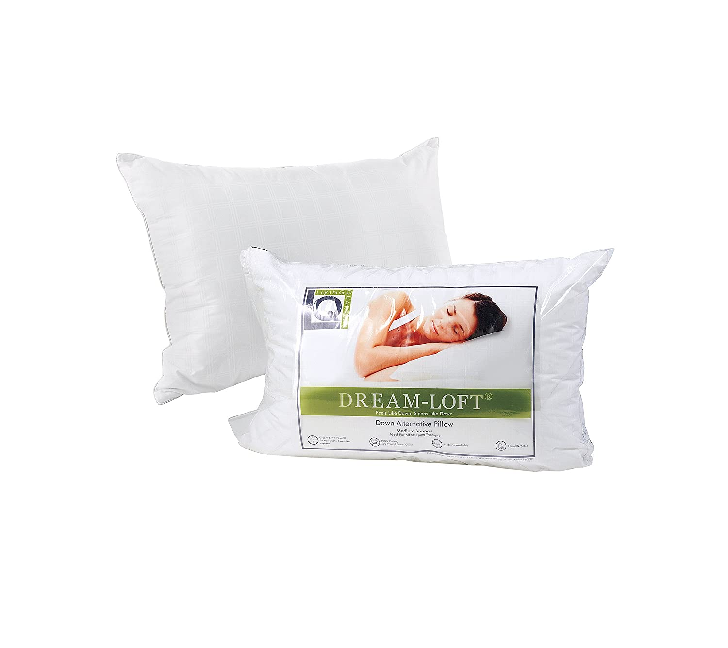 fill alt down pillow microfiber pillows hypoallergenic alternative products