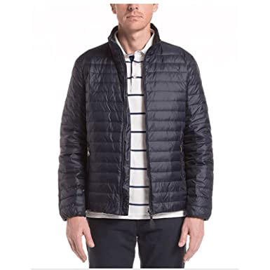 f1d8958f871 Aigle Litedowny Compactible Light Down Jacket Dark Navy XL at Amazon ...