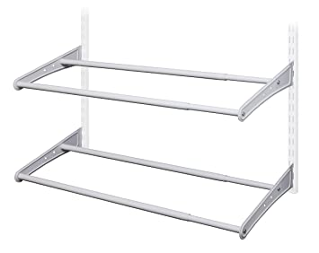 ClosetMaid 28440 ShelfTrack Expandable Shoe Rack 24quot X 42quot