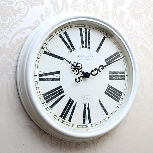 KKLOCK Wanduhr Uhr Wanduhren ohne Ticken Lautlos für Wohnzimmer ...