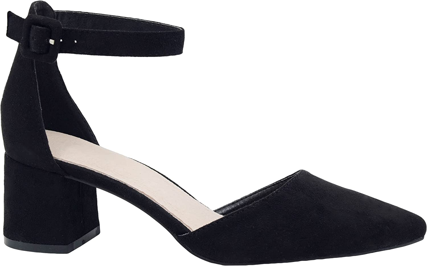 Greatonu Ankle Strappy Buckled Party
