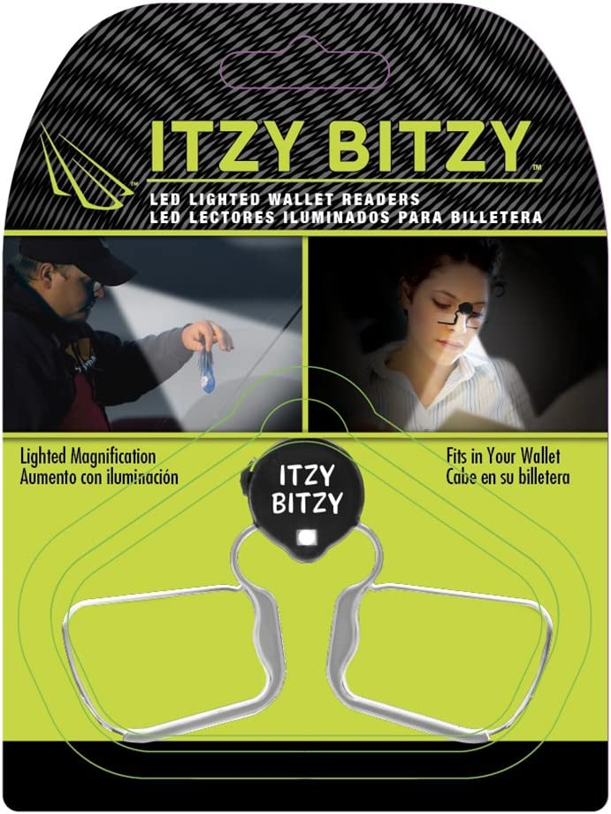 Panther Vision NR-2535 LightSpecs Itzy Bitzy Compact Ultra Bright Led Lighted Wallet Readers