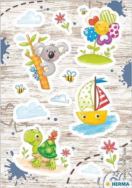 HERMA 15593 Magic Sticker - Pegatinas de seda brillante para ...