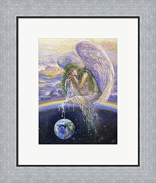Amazon.com: Weep For The World by Josephine Wall Framed Art Print ...