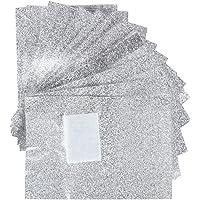 Bullidea 100Pcs Gel Nail Foil Wraps Nail Polish Remover Soak Off Gel Foils Nail Wraps with Cotton Pad Acrylic Nail Cleaner Wraps