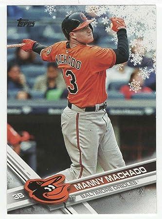 Amazoncom Manny Machado Baseball Card 2017 Topps Walmart