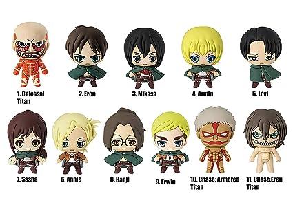 Amazon.com: Attack on Titan Eren, Armin, Mikasa, Levi ...