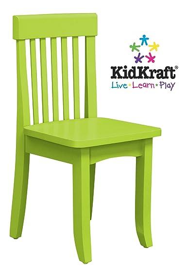 Kidkraft 16613 - Sedia alta in legno per bambini, colore: Verde ...