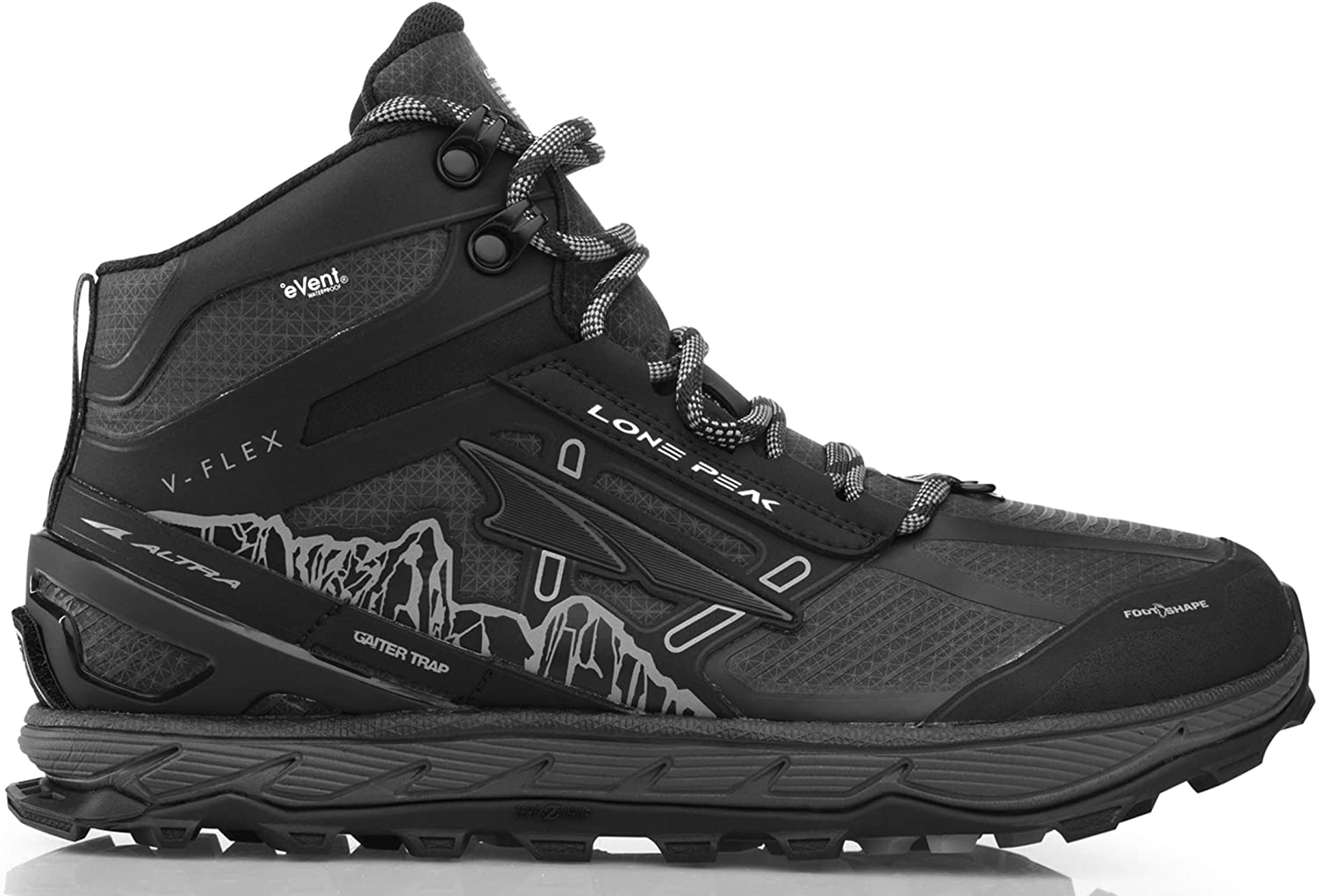 ALTRA Men s Lone Peak 4 Mid RSM Waterproof Trail Running Shoe
