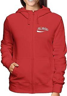 Sweatshirt a Capuche Zip Femme Rouge ENJOY0021 Enjoy BI Polar
