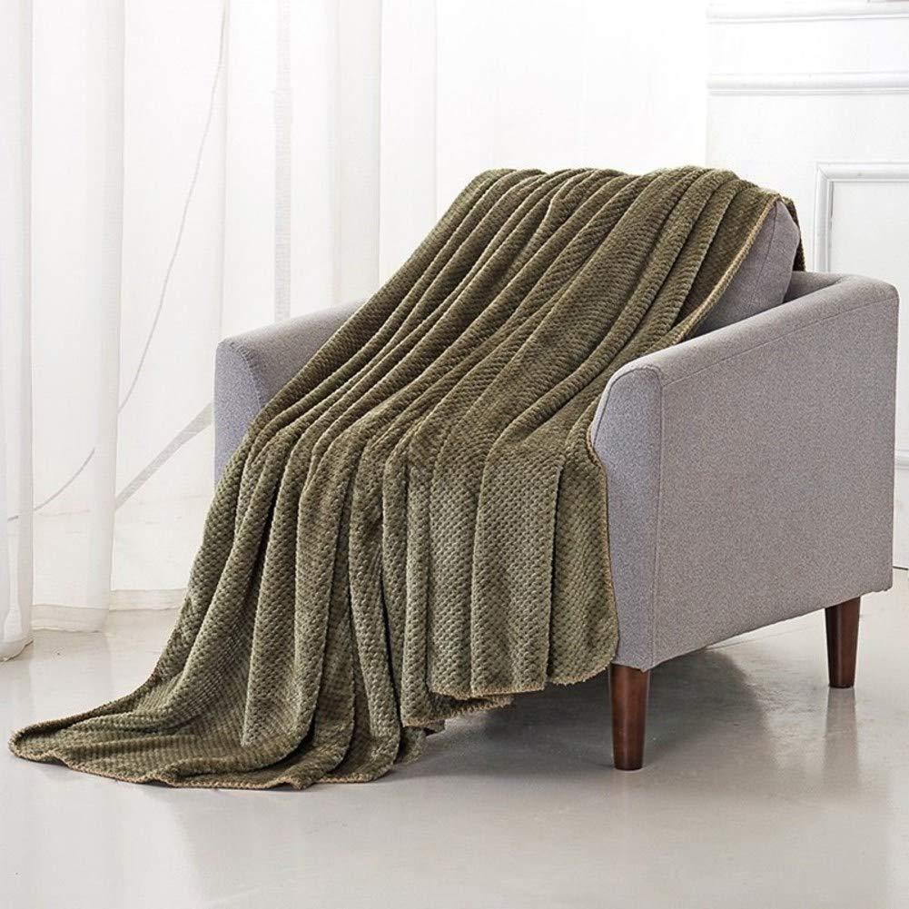 Amazon.com: Super Soft Warm Throw Blanket, Coral Fleece ...