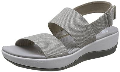 296b97677e16 Clarks Women s Arla Jacory Sand Fashion Sandals-6.5 UK India (40 EU ...