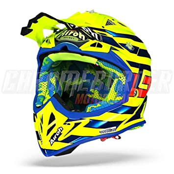 AIROH AVIATOR 2.2 CAIROLI QATAR YELLOW GLOSS