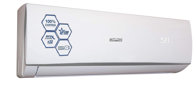 Mitashi 1 5 Ton 2 Star Split AC (Copper, FSA218K50, White)