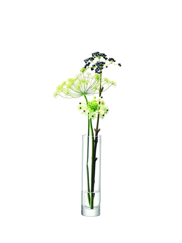 LSA International Column Vase (Slim) H25 x Ø6Cm Clear G841-25-992