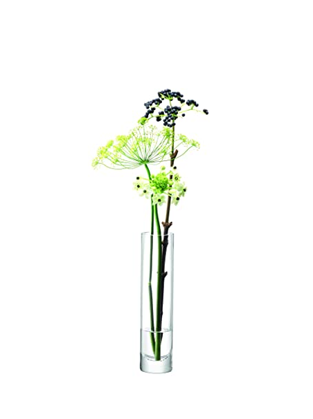 Lsa International Column Vase Slim H25 X 6cm Clear Amazon