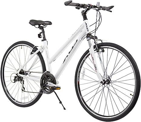 XDS Cross 300 Bicicleta híbrida de 24 velocidades para Mujer, 44 ...