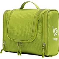 Bago Hanging Toiletry Bag For Men & Women - Toiletries Travel Organizer (Green)