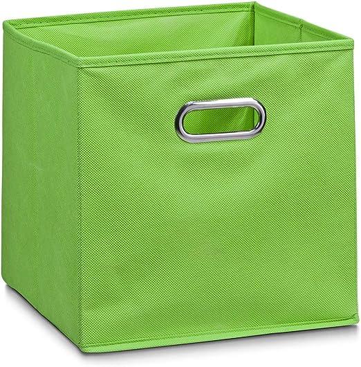 Zeller 14134 - Caja de almacenaje de tela, plegable, 28 x 28 x 28 ...