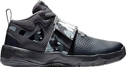 9b5c981320c Nike Kids  Grade School Team Hustle D 8 Camo Basketball Shoes (Black Camo