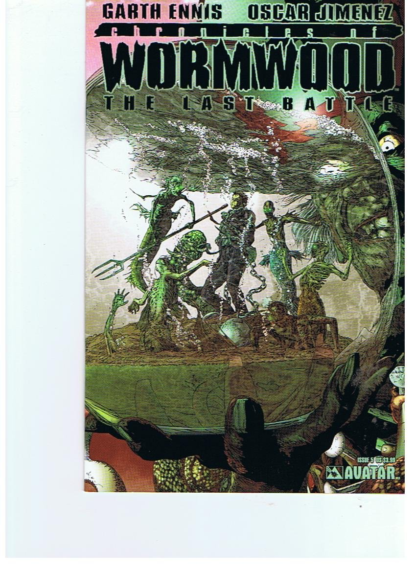 Download Chronicles of Wormwood The Last Battle #5 Regular Cover pdf epub