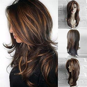 lange haare braun