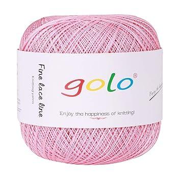 Amazon.com: Hilo de algodón para ganchillo, 400 yardas ...