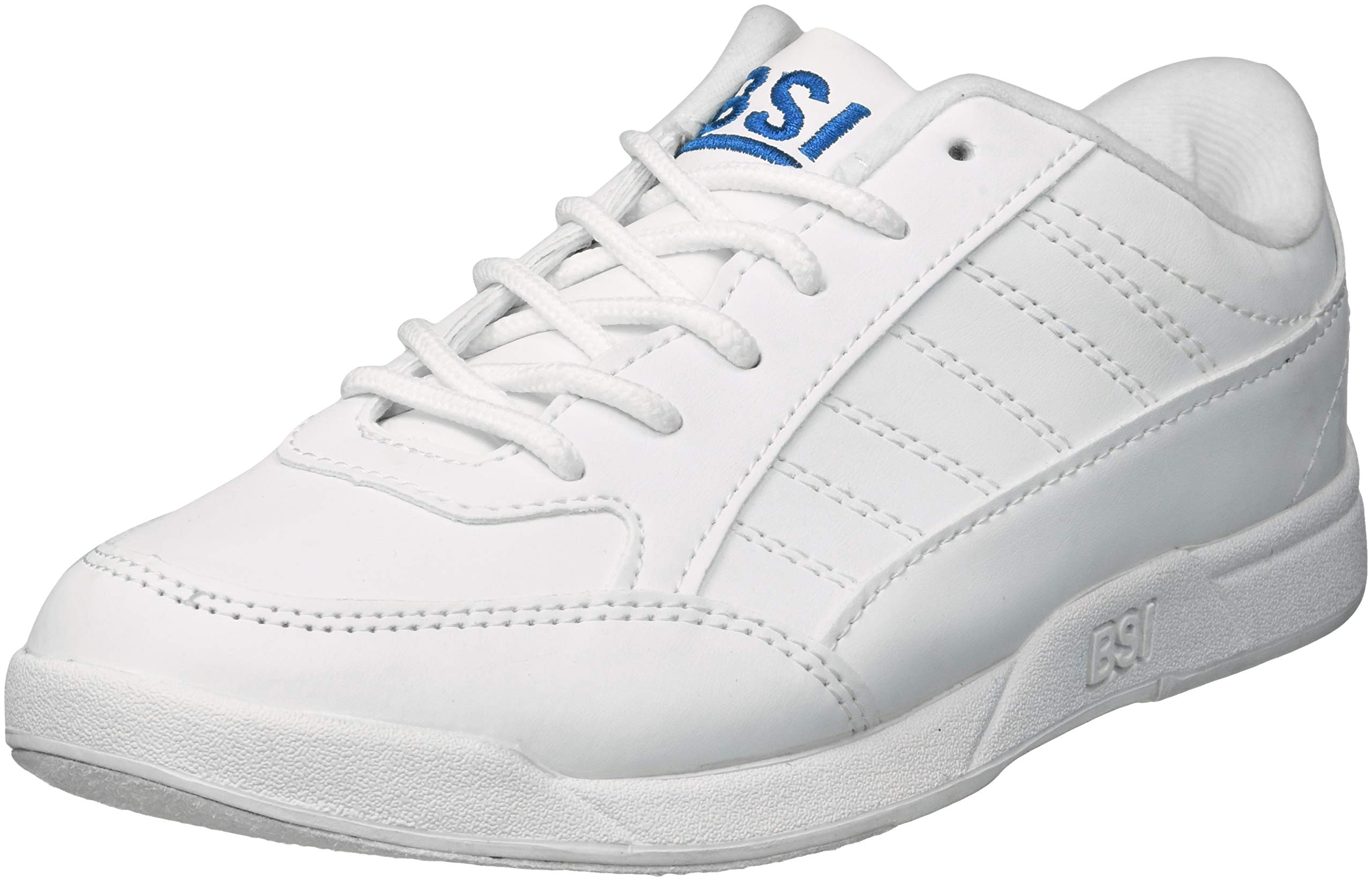 BSI Boy's Basic #532 Bowling Shoes, White, Size 1.0