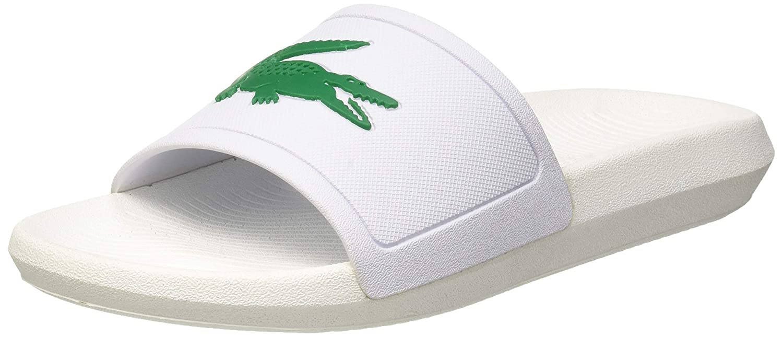 9336392c03 Lacoste Croco Slide 119 3 Cfa, Sandales Bout Ouvert Femme: Amazon.fr:  Chaussures et Sacs