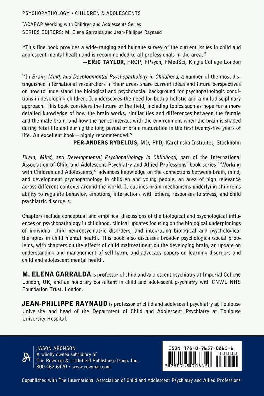 Brain, Mind, and Developmental Psychopathology in Childhood