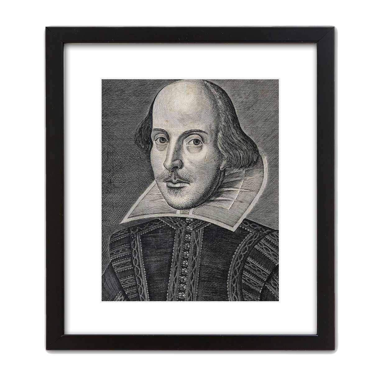 ArtDash Studio Decorative Canvas Art Print William Shakespeare 16/×20