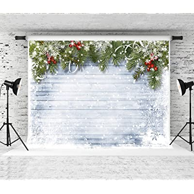 Kate 20x10ft Christmas Photography Backdrops Winter Fireplace Photo Background Xmas Pine Tree Backgrounds Holiday Party Decoration Props Backdrop